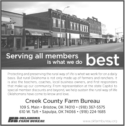 Creek County Farm Bureau week